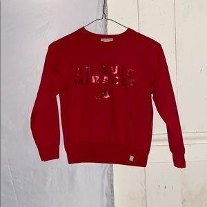 Red Girls Sweatshirt